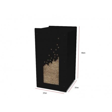 Granulebox Numerik Noir