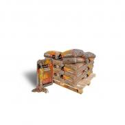 Palette de granulés de bois Crépito