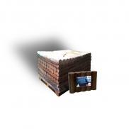 Bûches de nuit compréssées Breizh - Demi-palette de 64 paquets de 4 bûches