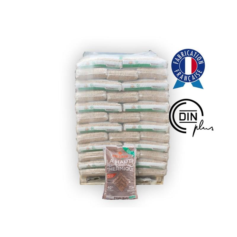 granulés de bois en palette - Livraison Granulés de Bois / Pellets