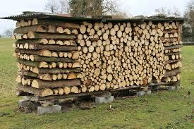 Comment empiler bois de chauffage ? Empilage du bois de chauffage - Combustibles Gruchy